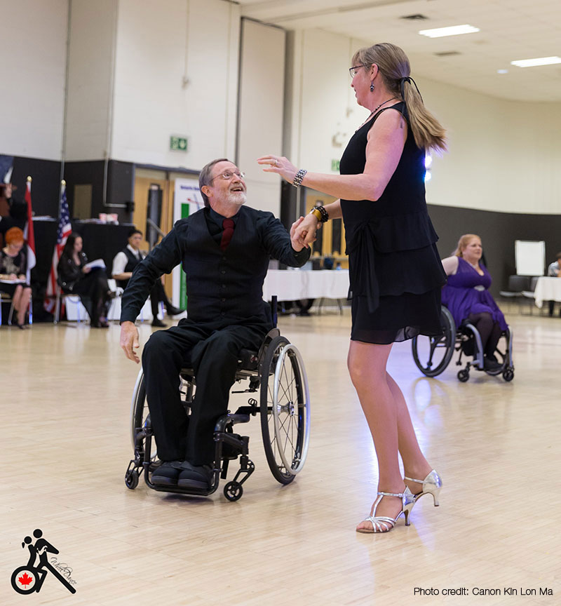 Having Fun Wheelchair Dancing in Canada